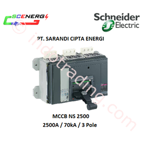 MCCB Schneider 2500A  (NS 2500)