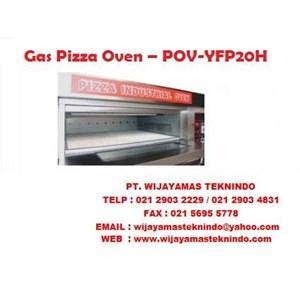 Dari Mesin Pemanggang Gas Pizza Oven POV-YFP20H - 40H Fomac 0