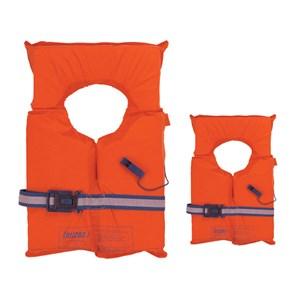 Dari LALIZAS SOLAS 74 Lifejacket Foam Buoyancy 95Nt Weight >55Kg with Whistle 0