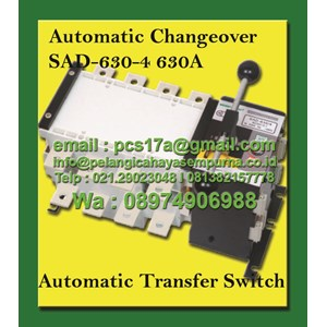 Dari Salzer Automatic Transfer Switch 630 Amp 4 Pole SAD-630-4 0