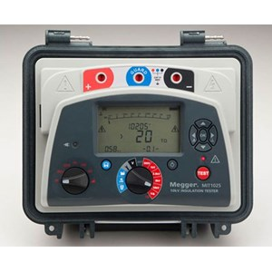 From Megger MIT1025 10 kV Diagnostic Insulation Resistance Tester 0