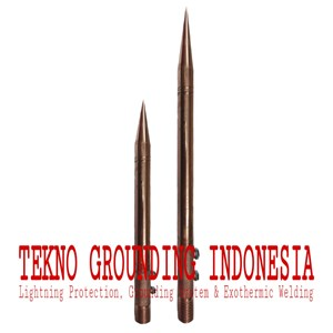 From AIR TERMINAL SPLITZEN - SPEAR OF LIGHTNING PROTECTION CONVENTIONAL 0