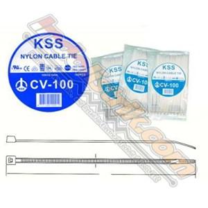 Dari Kss Kabel Ties Cv100k (100 X 2.5 ) Putih Isi 1000 Pcs 0