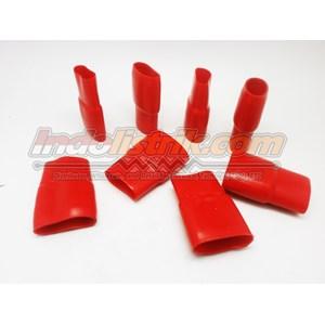 Dari Nintoku Vinyl End Cap V400 Merah Pelindung Kabel Lug 1