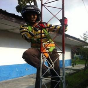 Dari Antena Digital Tower Tri angle 1