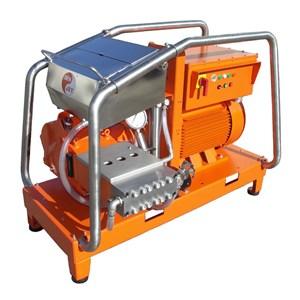 Dari WATER JET BLASTER ELECTRIC DENJET CE 150 PRESSURE 200-2500 BAR FLOW RATE 21-300 LPM 0