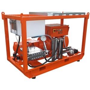 Dari WATER JET BLASTER ELECTRIC DENJET CE 150 PRESSURE 200-2500 BAR FLOW RATE 21-300 LPM 1