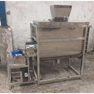 From Ribbon Mixer Machine (Horizontal Mixer) / Powder Mixer 0