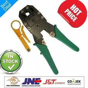 Dari Crimping Tools RJ-45 dan Rj-11 3 Hole 0