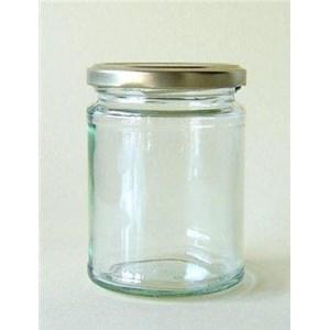 From round jar bottle 0