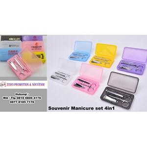 Dari Souvenir Manicure Set 4In1 Peralatan Kecantikan 0