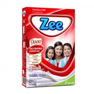 Dari  ZEE REGULER  VANILLA 350 GR X 12 BOX/DUS   0