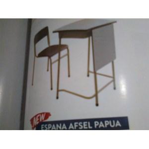 Dari Meja dan Kursi Sekolah Duma Espana Afsel Papua 0