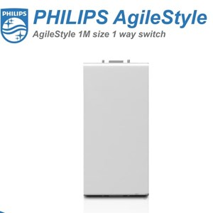 From Philips AgileStyle 1M 1Way Switch  0
