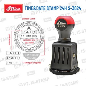 Dari Shiny Time And Date 24 Hours S-3624 0