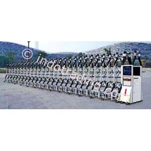 Dari Aluminium Retractable Electronid Folding Gate Benteng-1B 1