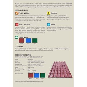 From Rooftile PVC Royal Roof 3