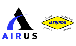 Logo Airus Blower Indonesia ( Pt. Merindo Makmur )